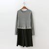 Winter Combo Dress - New