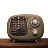 페나 라디오 히터 레트로 PTC  온풍기(단색) 페나 키보드 디자인