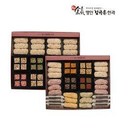 [무료배송] [식품명인 김규흔]새솔2단 선물세트