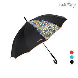 키스해링 두폭패턴 장우산