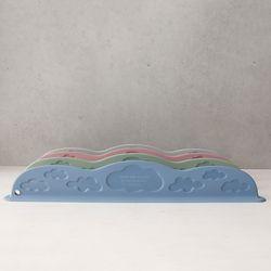 국내산 뉴 실리콘 구름 싱크대 물막이 - 4color