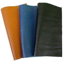 타조무늬 천연소가죽 재단가죽원단(30*35)