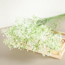 심플안개부쉬o 61cm 조화 꽃 소품 인테리어 FAIAFT