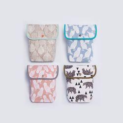 유아 아기 무형광 오가닉 기저귀파우치 기저귀가방