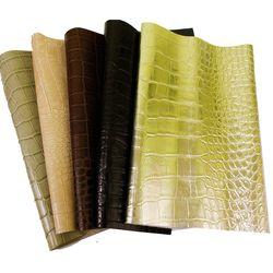 와니무늬 천연소가죽 재단가죽원단 색상랜덤 30X35 5장