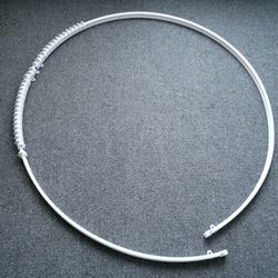 커튼곡선레일(라운드레일휘어지는레일) 12자 (360cm)