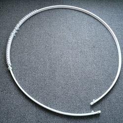 커튼곡선레일(라운드레일휘어지는레일) 9자 (270cm)