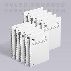 스프링북 오리지널 - 화이트 (코넬시스템) 10EA
