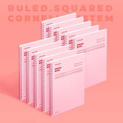 스프링북 컬러칩 - 로즈쿼츠 (코넬시스템) 10EA