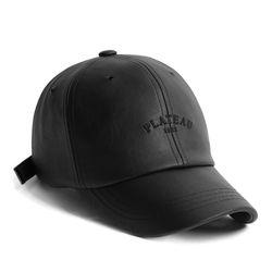 19F LEATHER 1982 CAP BLACK