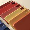 아이폰 7 8 플러스 X XS MAX XR 컬러칩 케이스 웜컬러 6종