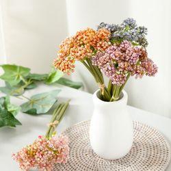 뉴세덤번들(6개입)o 25cm 조화 꽃 소품 장식 FMBBFT