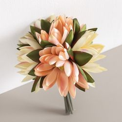 연꽃번들(6개입)o 24cm 조화 꽃 소품 인테리어 FMBBFT