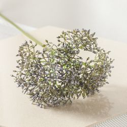 아네썸가지o 45cm 조화 꽃 소품 인테리어 장식 FAIAFT