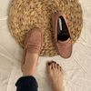Bunny Suede Loafers