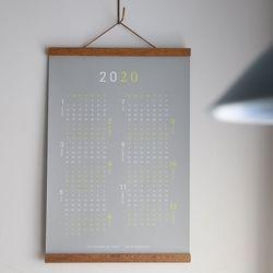2020 벽걸이용 한장 캘린더
