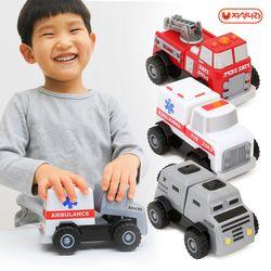 나만의 구조대만들기 자석블럭 (소방차-구조대-기동대-자동차)