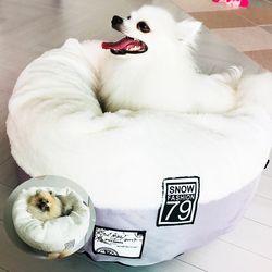 강아지방석 애견쿠션 모어펫 스노우펫쿠션 2종