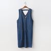 Alexa Denim Long Dress