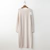 Laine Cashmere N Wool Round Maxi Dress