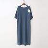 Laine Cashmere N Wool Maxi Dress - 반팔