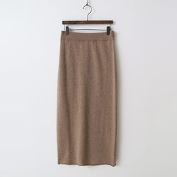 Cashmere N Wool Long Skirt - New