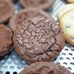 쫀득초콜릿크랙쌀쿠키(1개) 초콜릿 듬뿍 우리쌀쿠키
