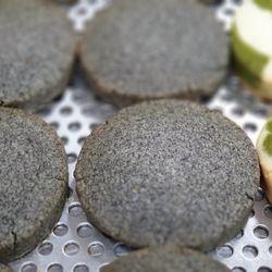 흑임자사블레쌀쿠키(1개) 고소한 국산흑임자 쌀쿠키