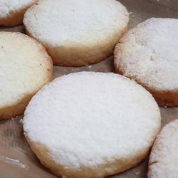 스노우쌀쿠키(1개) 눈처럼부드러운 글루텐프리 쌀쿠키