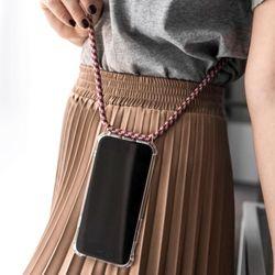 아이폰 스마트폰 숄더 스트랩 케이스 도난 분실 방지