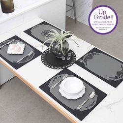 실리콘 사각 테이블매트 식탁매트 10종