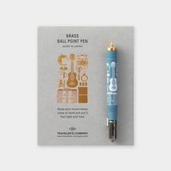 Travel Tools Collection Brass Ballpoint Pen