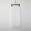 Lace Pleats Long Skirt