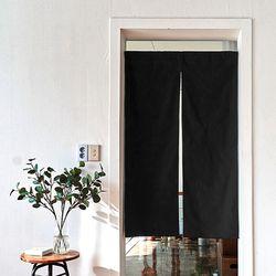 블랭크 블랙 광목원단 도어커튼L (RM 269001)
