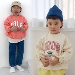 꿈꾸는아이 드럭 맨투맨 티셔츠 3컬러 택1아동복