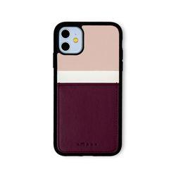 아이폰11 보호 카드케이스 씨원-퍼플레드