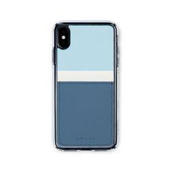 아이폰XR XS MAX 보호 카드케이스 씨원-블루