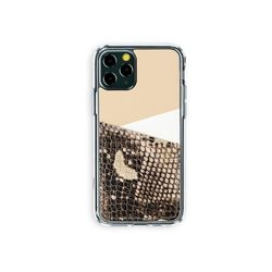 아이폰11프로 보호 가죽 카드케이스 오원-베이지(파이톤)
