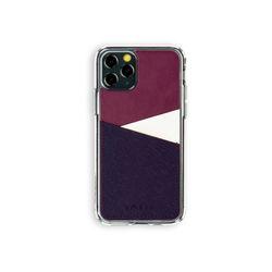 아이폰11프로 보호 가죽 카드케이스 오원-퍼플(사피아노)