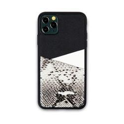 아이폰11프로 맥스 보호 가죽 카드케이스 오원-블랙(파이톤)