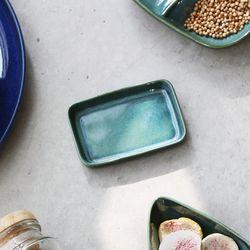 까사무띠 세나 낮은 직사각 접시 소 10cm 5color