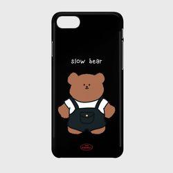 overalls slow bear 하드케이스