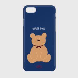 adult bear navy 하드케이스