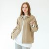 BASIC TRUCKER JACKET (BEIGE)