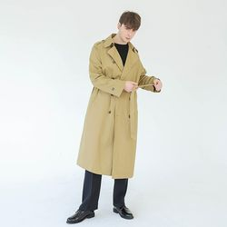 MILANO OVER-FIT TRENCH COAT (BEIGE)