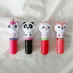 귀여운 동물 고양이 팬더 유니콘 여우 어린이 립밤