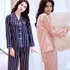 스트라이프 잠옷 투피스 파자마 2color