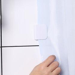 욕실 샤워커튼 고정클립