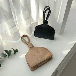 파이톤 미니 핸드백
