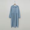 Frill Denim Long Dress